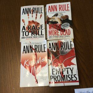 Ann Rule True Crime Bundle Collection #3